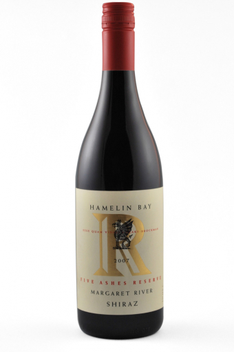 Hamelin Bay `Five Ashes` Reserve Shiraz 2008