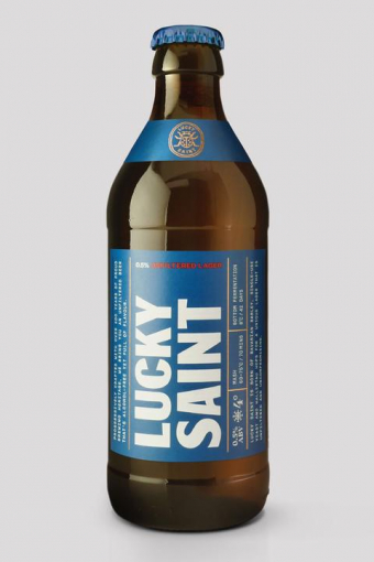 Lucky Saint Alcohol Free Lager