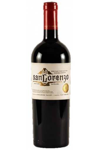 San Lorenzo `The Pearl` Alexander Valley 2015